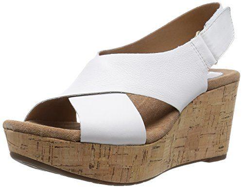 Clarks-Caslynn-Shae-Womens-Wedge-Heels-Sandals-0