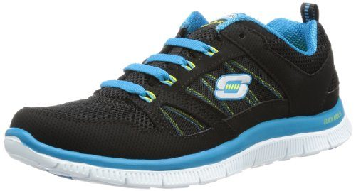 Skechers-Flex-Appeal-Spring-Fever-Trainers-Womens-0